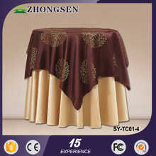 Hot sale event high quality printed wedding daily pvcpeva table cloth for garden