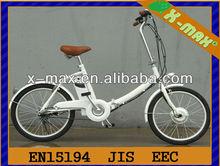 X-eb49 20'' alluminio 250w foladable bicicletta elettrica kit di frenata rigenerativa con batteria agli ioni di litio