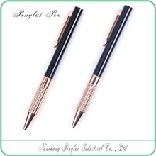 2015 colorful classic business metal ball pen gift logo printed promotional thin metal ball pen