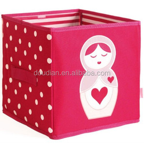 mode neuheit gemusterten karton kinder spielzeug doll aufbewahrungsboxen