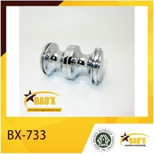Zinc alloy shower glass door knob and shower handle