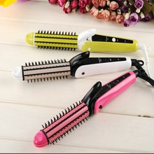 3 In 1 Newest Good Quality Hair Curlers, pro Style Hair Products, Mini Hair Straightener