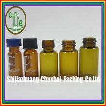 Perfume glass vial for tester