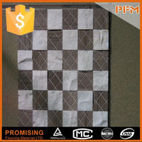 latest hot sale cheap well polished metal mosaic environmental protection adornment materials