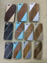 2015 New Products Metal Aluminum Wood Bamboo Wooden Case for iPhone 5S Made in China Factory