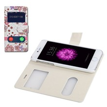 Flower flip cover for huawei ascend y300 case