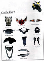 Motorcycle body parts for KYMCO AGILITY RS125