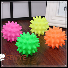 Dog/cat pet TPR toys ,Rubber toys ball shape sound toys