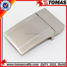 Guanghzou factory price men logo stainless steel belt buckle blank