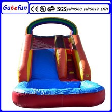 new design adult size outdoor water park customized inflatable water slides wholesale