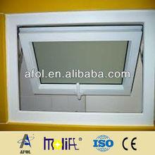 Cheap UPVC Awning Window For Bathroom Use