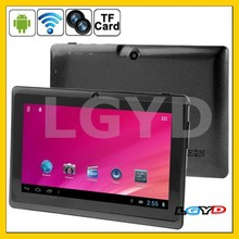 HSD-7082 Black, 7.0 inch Capacitive Screen Android 4.0 Tablet PC with WIFI, Double Cameras, 360 Degree Menu Rotate, 512MB RAM