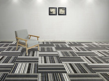 Chilewish style unique rib weave woven vinyl flooring mats