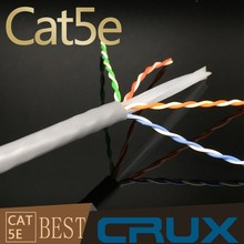 305M/Roll CMR CMP Cat 6 Ethernet Cable UL Rated 4 Pairs 24AWG