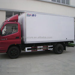 used refrigerated cold room van and truck for sale made of composite material panel holypan
