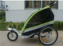 hot sell bike baby trailer and jogger with adjustable bar
