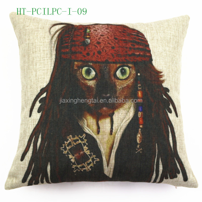 Wholesale New Design Retro Vintage Decorative, Wholesale Custom Printed Cushion Cover Linen ...