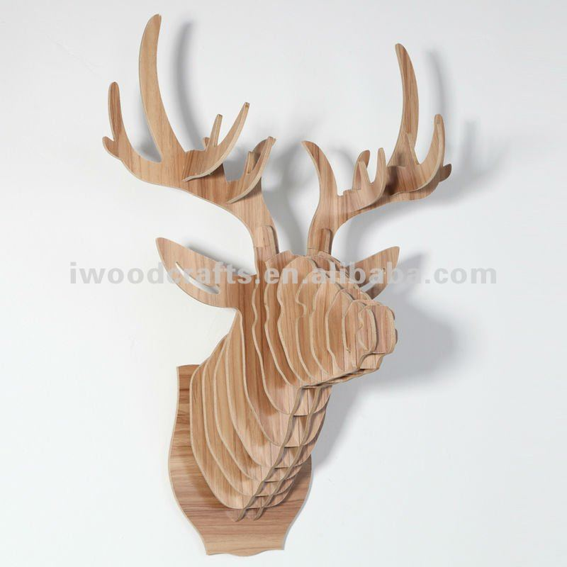 decorative deer head wall hanging buy wall hanging hangings for wall decorative hanging. Black Bedroom Furniture Sets. Home Design Ideas