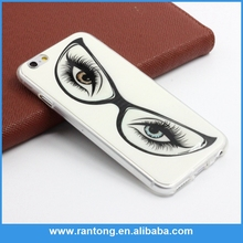for iphone 6 case transparent china wholesale market ultra thin print phone case