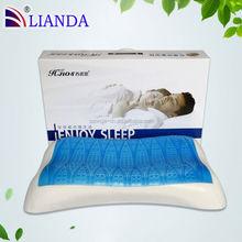 Sleep Better aloe vera plain white linen plain white linen Gel Pillow