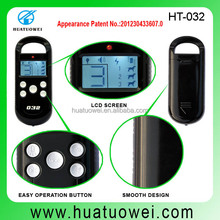 LCD Display Rechargeable Vibration Collar and Shock Training Remote Dog Collar for 3 Small Dogs