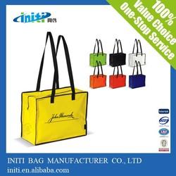 Fashion waterproof beach bag with zipper| wholesale waterproof beach bag with zipper