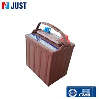 High quality 4-EV-145 lead acid deep cycle golf cart battery with best price