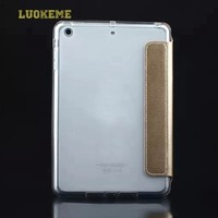 Factory price pu leather + tpu back cover tablet case for ipad 2 3 4