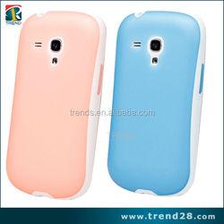 full body tpu mobile phone case for galaxy s3 mini i8190