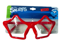 red five-pointed star party glasses/plastic frame/kids toy