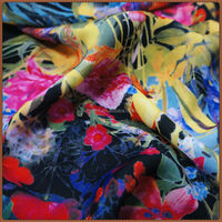 Custom expensive poplin digital printed cotton fabric in high quality