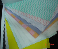 Spunlace nonwoven fabric with good water-absorption