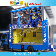P5 Outdoor Double sided led screen/display with front maintain/wifi/3G controller