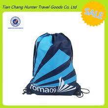 full color stripe drawstring bag / good design drawstring bag / printing drawstring bag