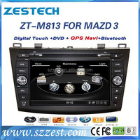 ZESTECH GPS internet WIFI Bluetooth car dvd for Mazda 3 2010-2013 with gps
