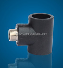 Socket male TEE PE PIPE FITTING