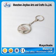 various design steering wheel shape keychain metal car accessory souvenir key ring