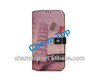 Mobile Phone Retro Style Leather Case for Samsung i9500