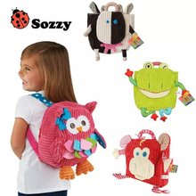 Sozzy Cartoon Cute Backpacks, Animal Shape school bag, snack bag for child