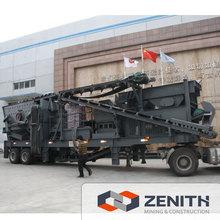 Máquina trituradora móvil, máquina trituradora móvil para la venta en Chile