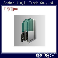 Best in class aluminum frame window finishes material sections