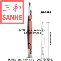 JQ-8028 Glass Handrail Stanchion