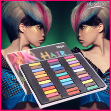 New arrival Temporary hair dye hair colour chalk 36colours for choice