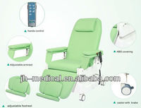 JH-C310 Medical Electric Dialysis Chair Hemodialysis Bed Phlebotomy Lab Chair