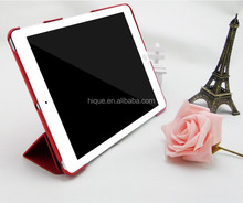 New Products Heat Setting smart cover Leather Smart Case For Ipad Air with Sleep Function
