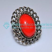 chinese cheap indian ruby gemstone ring supplier