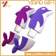 Animal shape usb flash drive/Fish shape usb flash drive PVC cover