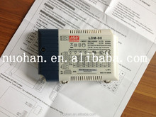 Meanwell 60w 1050ma constant current dimming 60w led driver led rgb dali dimming driver