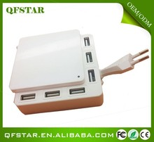 China wholesale universe 6 port 12v power supply charger