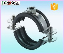 Lightweight and sturdy with plastic water pipe clamp